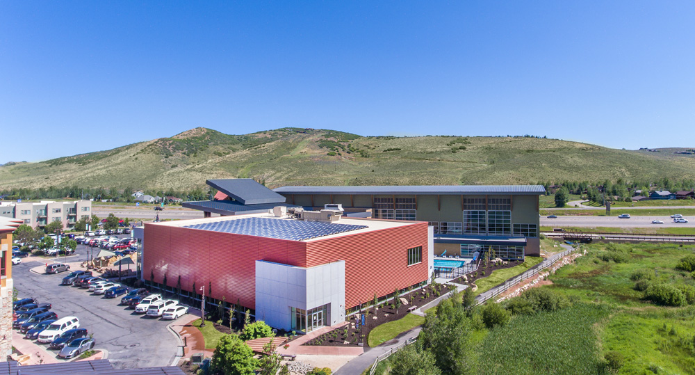 basin recreation fieldhouse now using renewable energy