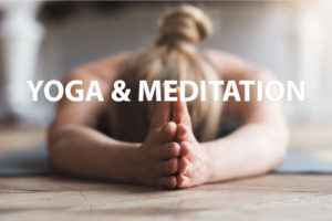 Yoga and Meditation Website Button